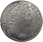 Kingdom of France, Louis XIV, Ecu 1709 (obverse)