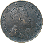 United Kingdom of Great Britain, Edward VII for Hong Kong, 1 Cent 1903 (obverse)