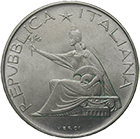 Republic of Italy, 500 Lire 1961 (obverse)