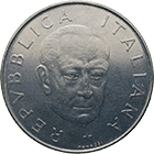 Republic of Italy, 100 Lire 1974 (obverse)