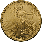 United States of America, 20 Dollars 1916 (obverse)