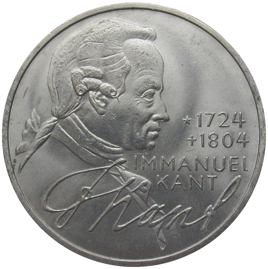 Federal Republic of Germany, 5 Deutsche Mark 1974 (reverse)