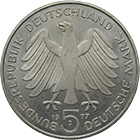 Federal Republic of Germany, 5 Deutsche Mark 1977 (obverse)