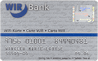 Swiss Confederation, Swiss Economic Circle, WIR Bank Card (obverse)