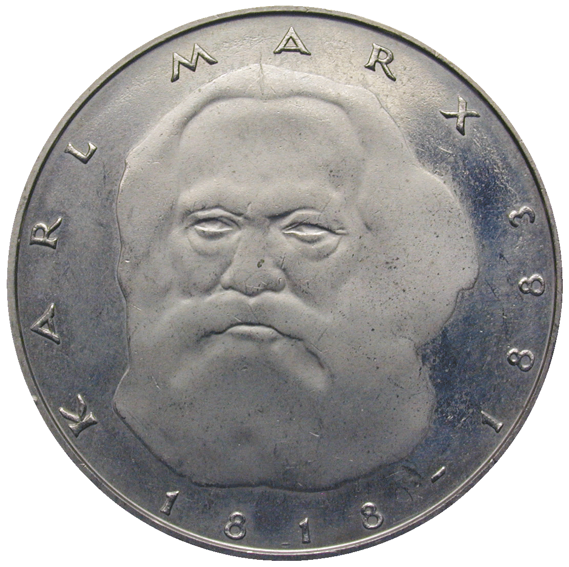 Federal Republic of Germany, 5 Deutsche Mark 1983 (reverse)