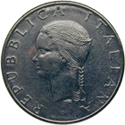Republic of Italy, 100 Lire 1979 (obverse)