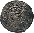 Kingdom of France, County of Provence, Alfonso II of Aragon, Denier (obverse)
