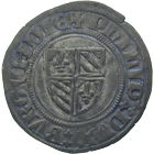 Kingdom of France, Duchy of Burgundy, Philip III the Good, Blanc d'argent (obverse)