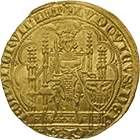 Holy Roman Empire, Louis IV the Bavarian, Chaise d'or (obverse)