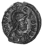 Germanic Tribe in Italy, Senate of Rome, Follis (obverse)