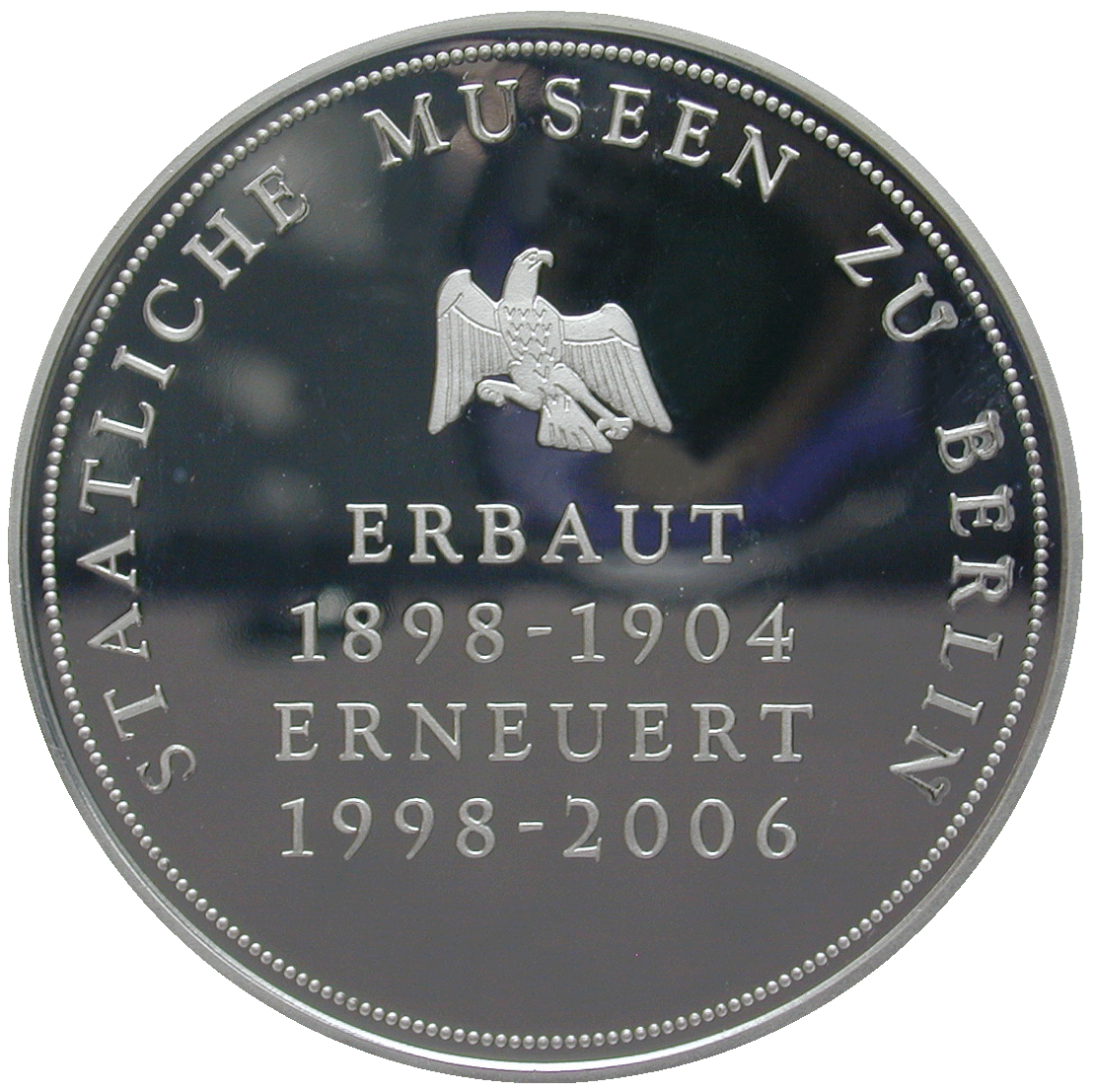 Federal Republic of Germany, Medal on the Reopening of the Bode-Museum Berlin (reverse)