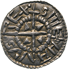 Kingdom of Hungary, Stephan I the Saint, Obol (obverse)