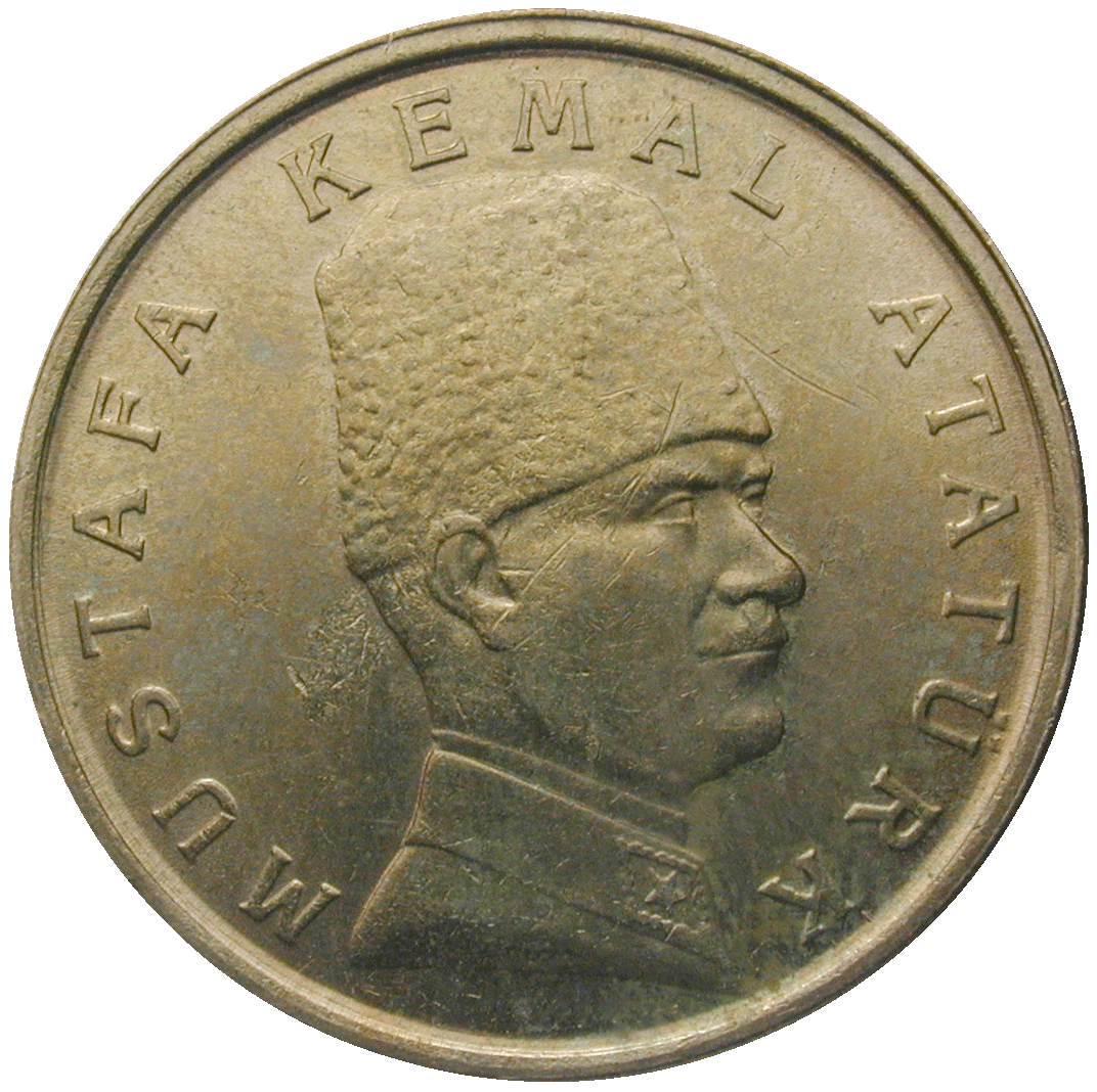 Republic of Turkey, 100,000 Lira 2000 (reverse)