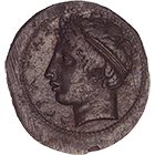 Sizilien, Akragas, Hemilitra (obverse)