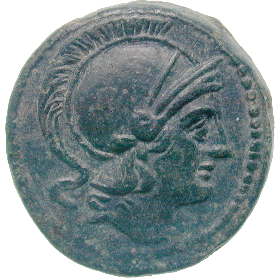 Römische Republik, Quartuncia (obverse)