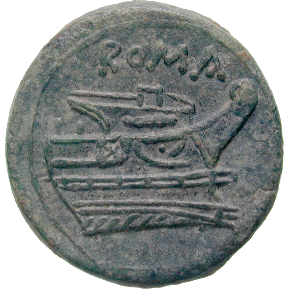 Römische Republik, Quartuncia (reverse)