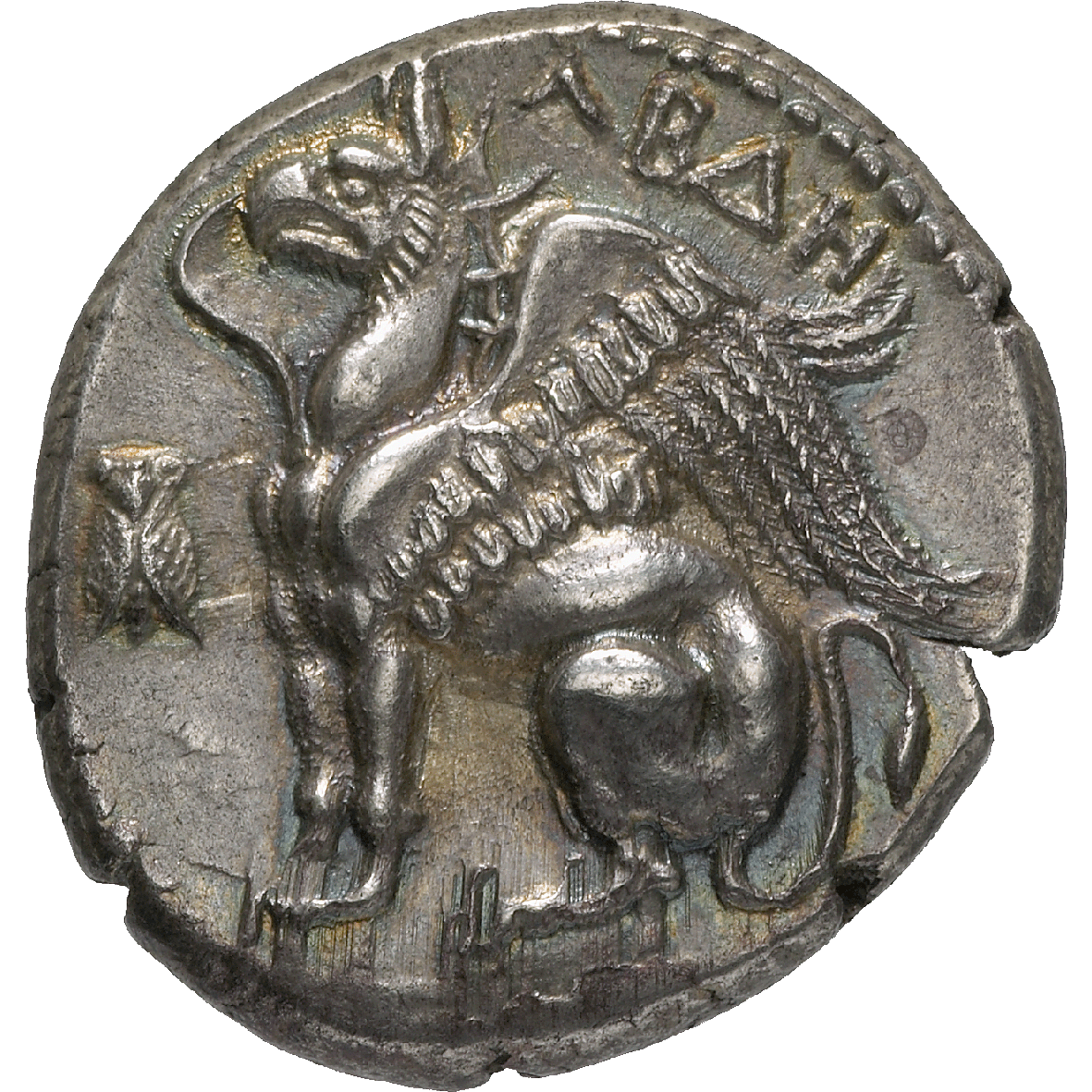 Thrace, City of Abdera, Stater (obverse)