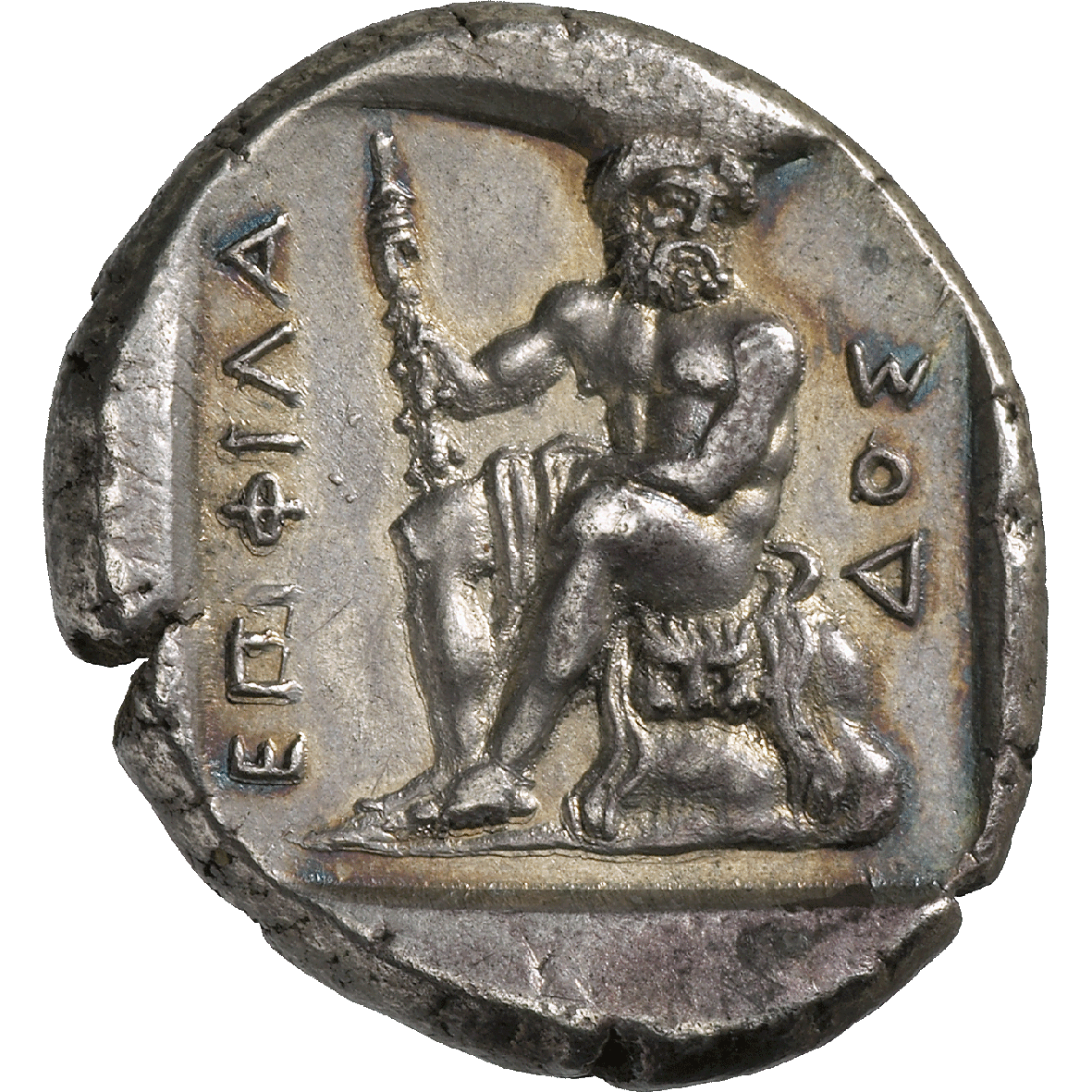 Thrace, City of Abdera, Stater (reverse)