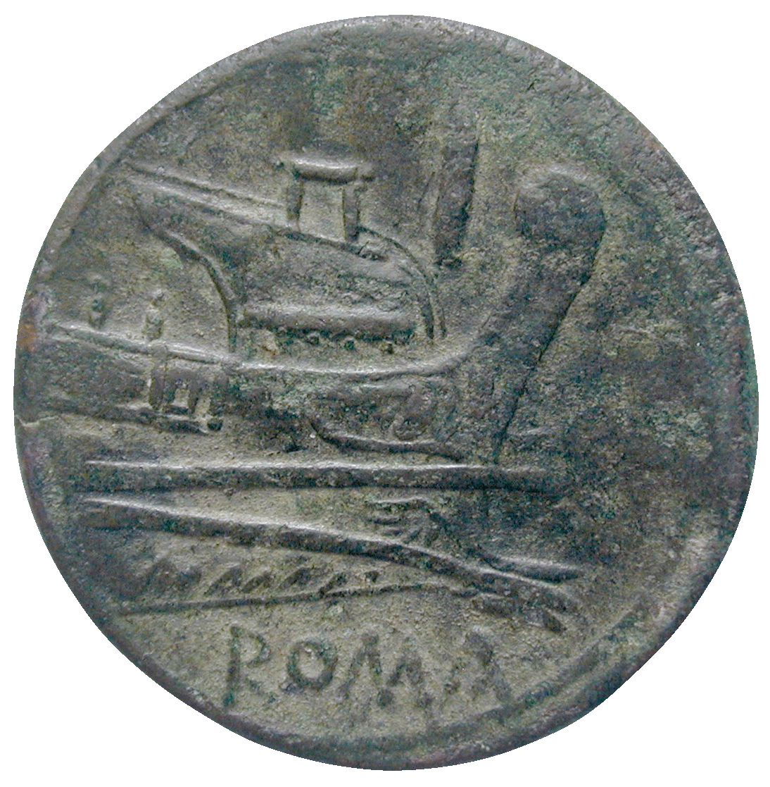Römische Republik, As (reverse)