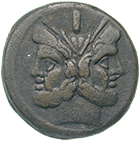 Römische Republik, As (obverse)