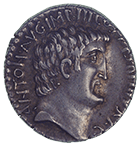 Roman Republic, Marcus Antonius and M. Junius Silanus, Denarius (obverse)