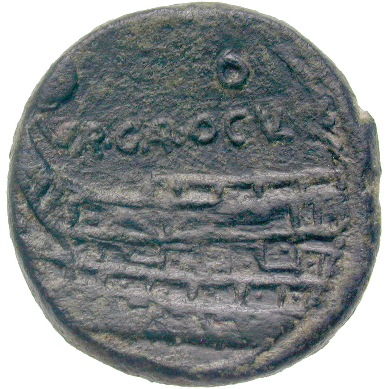 Roman Republic, As (reverse)