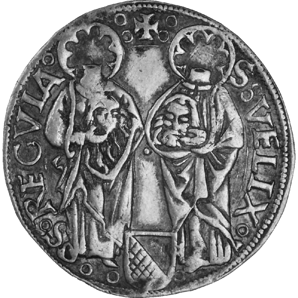 Holy Roman Empire, City of Zurich, Dicken 1504 (obverse)