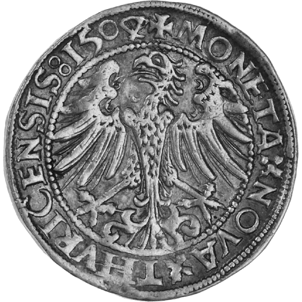 Holy Roman Empire, City of Zurich, Dicken 1504 (reverse)