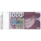 Swiss Confederation, 1000 Franks 1980, 6th Banknote Series, in Circulation 1976-2000 (obverse)