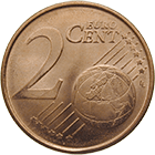 Republic of Greece, 2 Euro Cent 2002 (obverse)