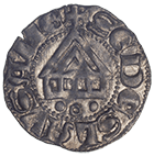 Bisopric of Lausanne, Aimon de Cossonay, Denier (obverse)