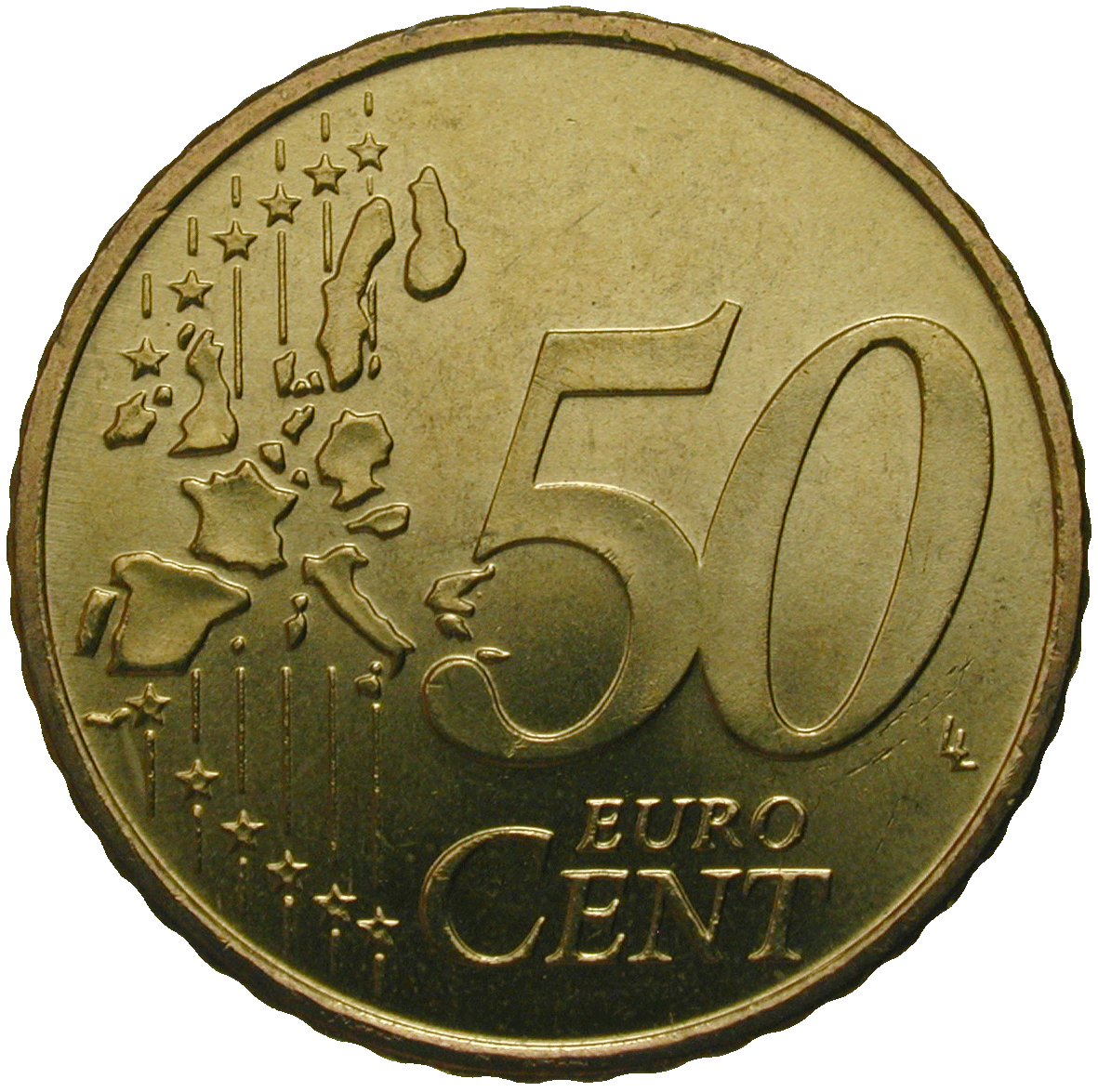 Republic of Greece, 50 Euro Cent 2002 (reverse)