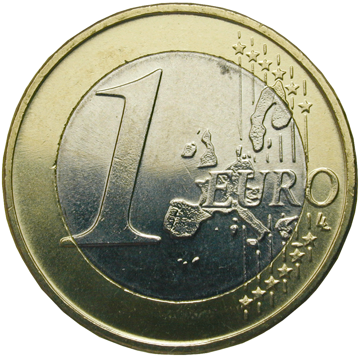 Republic of Greece, 1 Euro 2002 (reverse)