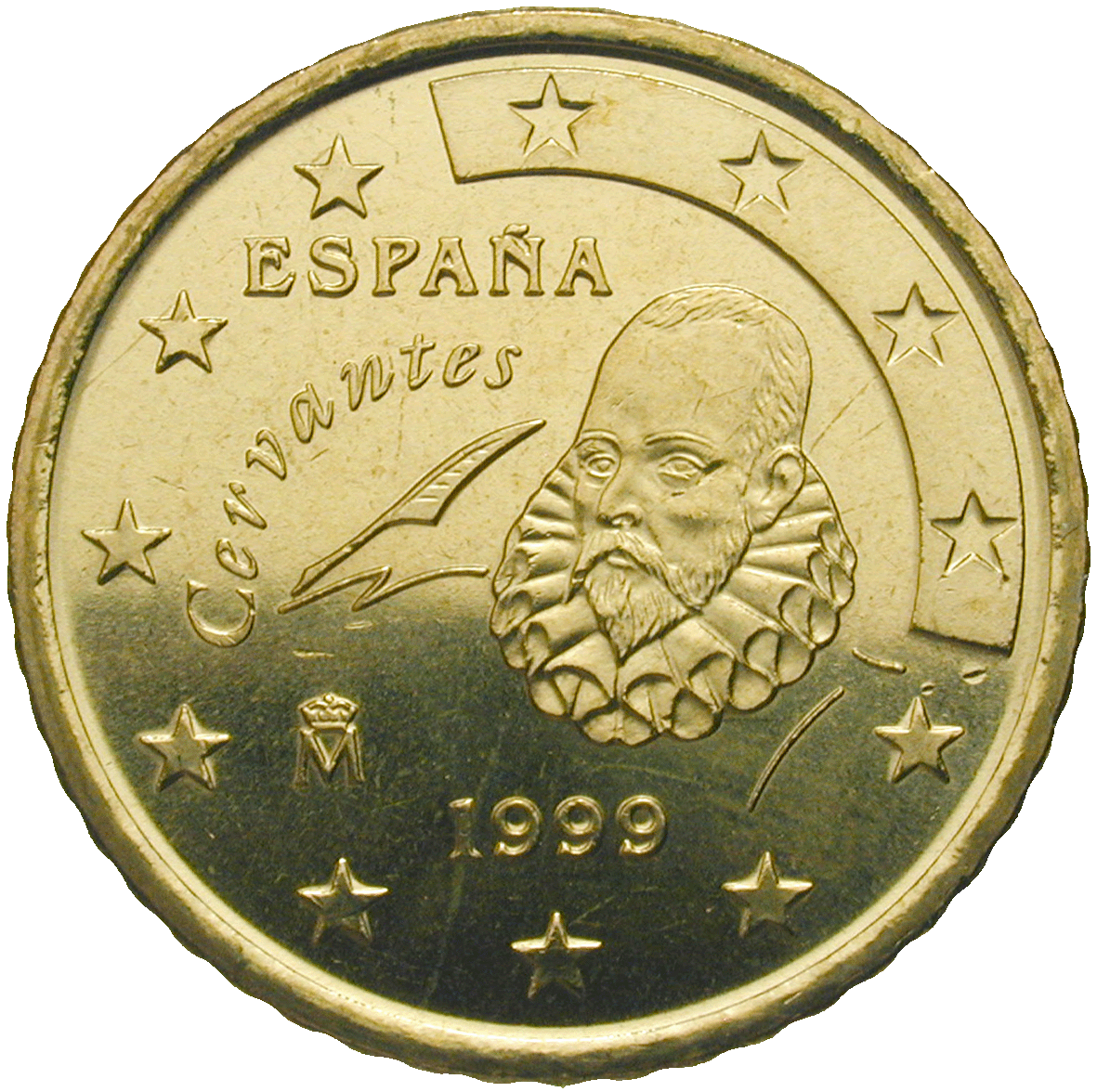 Kingdom of Spain, Juan Carlos, 50 Euro Cent 1999 (obverse)