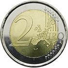 Kingdom of Spain, Juan Carlos, 2 Euro 2002 (obverse)