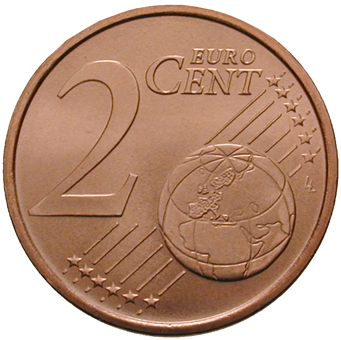Republik Italien, 2 Eurocent 2002 (reverse)