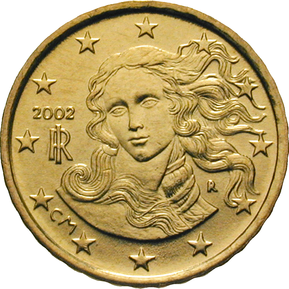 Republik Italien, 10 Eurocent 2002 (reverse)