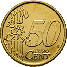 Republik Italien, 50 Eurocent 2002 (obverse)