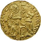 Aegaen Sea, Chios under the Mahona, Filippo Maria Visconti, Ducat (obverse)