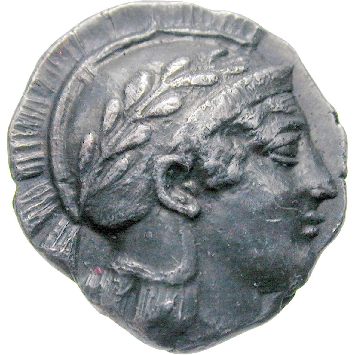 Southern Italy, Lucania, Thurii, Triobol (obverse)