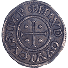 Holy Roman Empire, Louis the Pious, Denarius (Pfennig) (obverse)