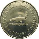 Republic of Macedonia, 2 Denari 2006 (obverse)