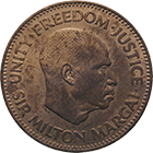 Republic of Sierra Leone, Half Cent 1964 (obverse)