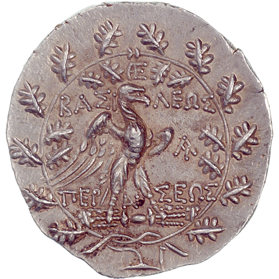 Kingdom of Macedonia, Perseus, Tetradrachm (reverse)