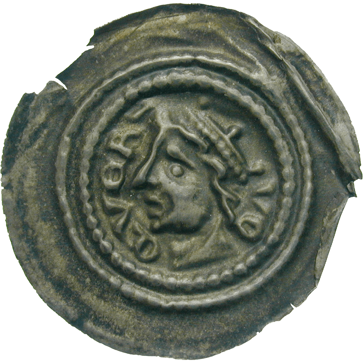 Holy Roman Empire, Duchy of Querfurt, Gebhard VI, Bracteate (obverse)