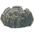 Islamic World, Arab-Byzantine Issue, Fals (obverse)