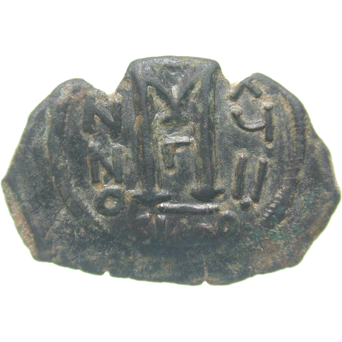 Islamic World, Arab-Byzantine Issue, Fals (reverse)