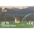 Austria, Community of Langenegg, 12 Langenegger Talents, valid until 12/31/2010 (obverse)