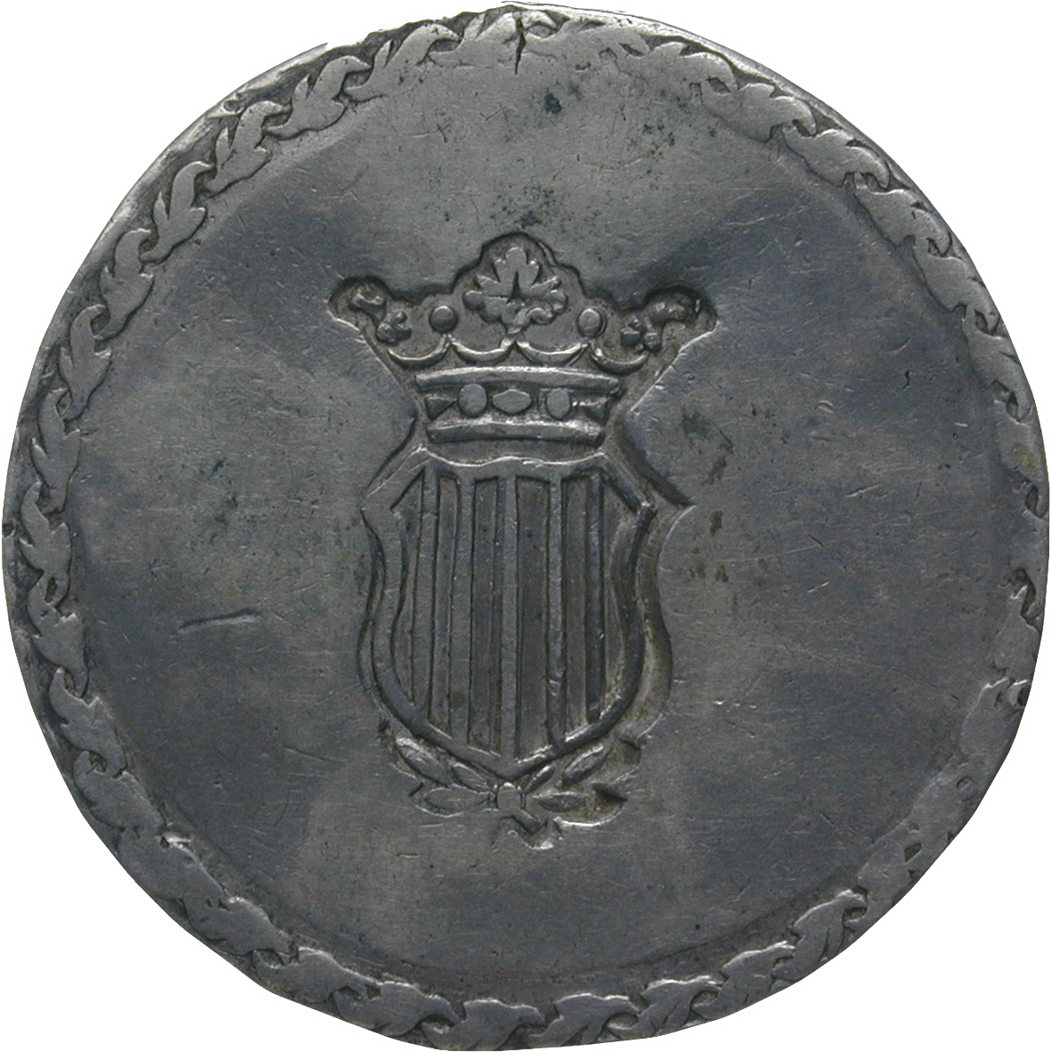 Kingdom of Spain, Ferdinand VII, 5 Pesetas 1809 (obverse)