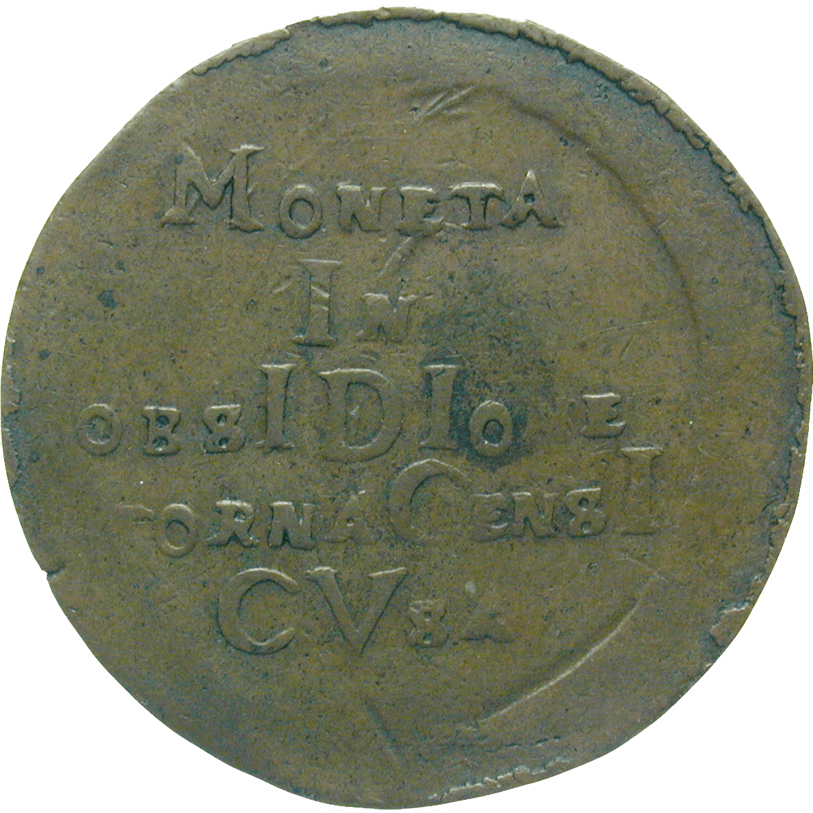 Spanish Netherlands, City of Tournai, 8 Sols 1709 (reverse)
